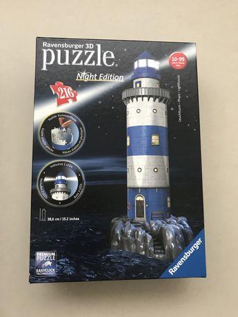 Puzzle 3D Farol Night Edition Runadrake