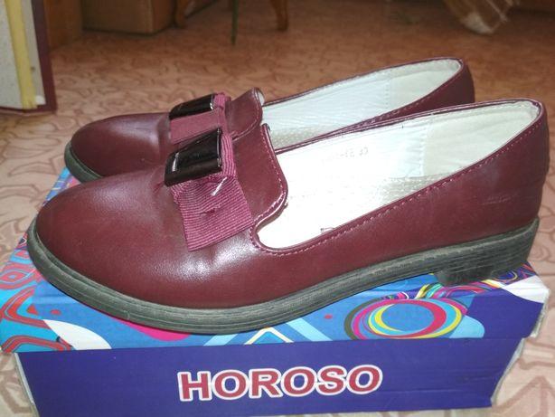 Туфли для девочек в школу 33 р