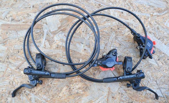 Дисковые гидравлические тормоза Shimano SLX BR-M7100.