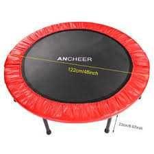 trampolina 122cm fitness ogrodowa do domu dla dzieci