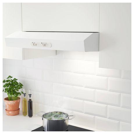 Вытяжка кухонная низкая цена Италия IKEA белая встраиваемая вытяжка