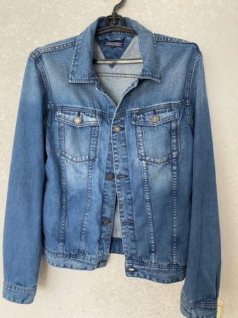 Джинсовый пиджак  Tommy hilfiger