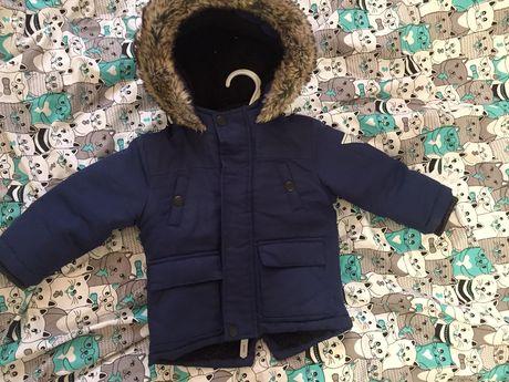 Куртка на мальчика зимняя