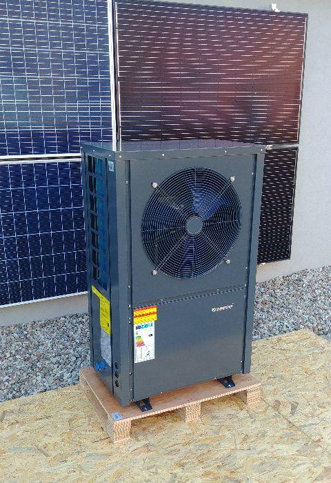 Powietrzna pompa ciepła MONOBLOK CO I CWU ciepła woda 7 kW praca -25 Turek - image 1