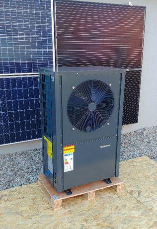 Powietrzna pompa ciepła MONOBLOK CO I CWU ciepła woda 7 kW praca -25