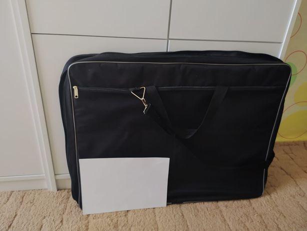 Портфель- сумка (папка) А2 тканевый для художественных материалов