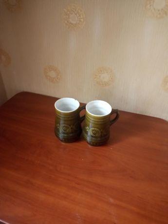 Глиняные пивные кружки
