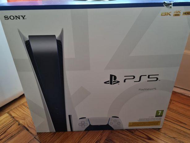 Ps5 Playstation 5 selada com 2 comandos 1 jogo fatura desta semana