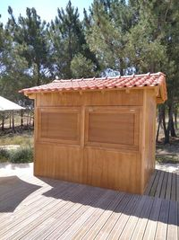 quiosque de madeira Madeira&Conforto