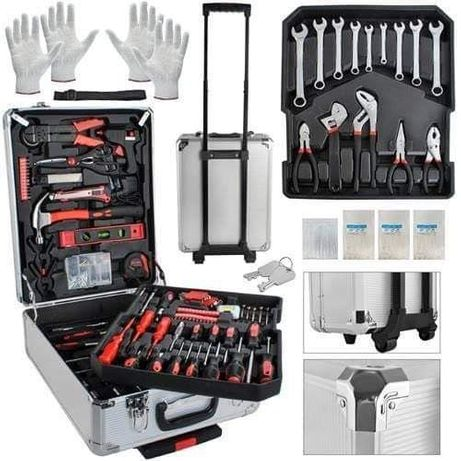 nowa walizka narzędzia prezent must have każdego mężczyzny
