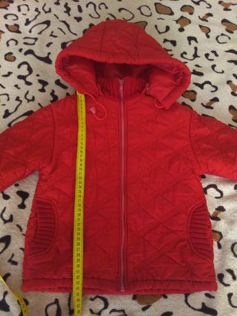Курточка Деми 3-4года( см .замеры )