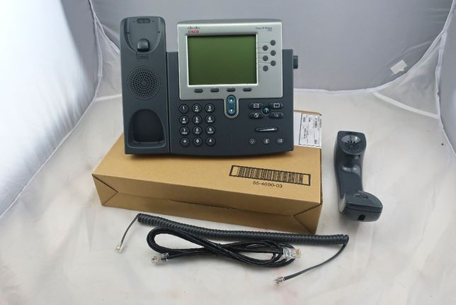 Telefone Cisco Unified IP Phone 7962G Novo