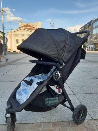 Baby jogger City mini gt SPACERÓWKA Charchoal śpiworek, pałąk, dodatki