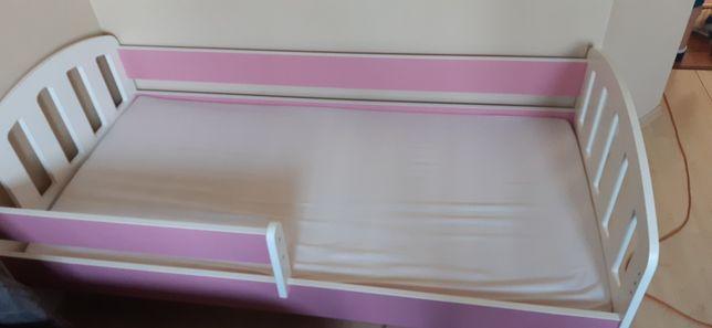Łóżko 160x80 dla dziecka z materacem