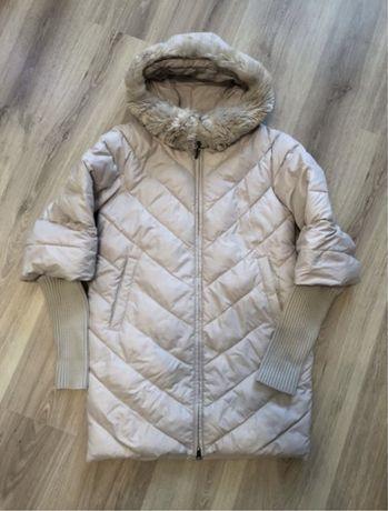 Пальто зимнее женское, зимний пуховик, зимняя курточка
