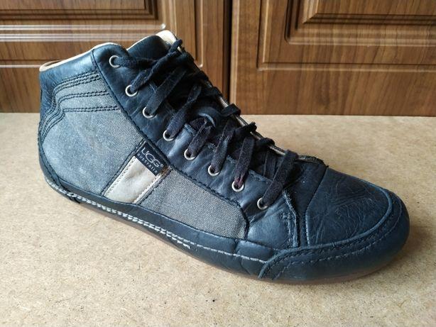 Кожаные кроссовки UGG Australia 46 ботинки хайтопы сникерсыdl diesel