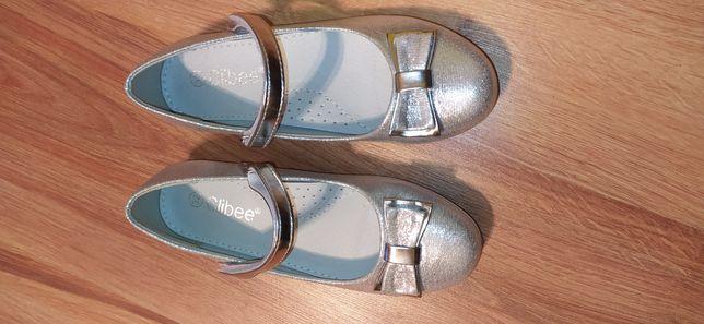 Buty dziewczęce skóra R32 wkładka 20.5cm
