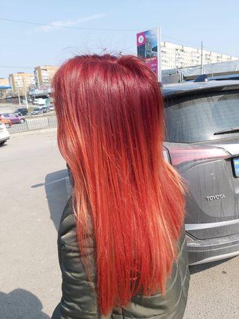 Фарбування волосся, зачіски, стрижка, перукар залізничний район