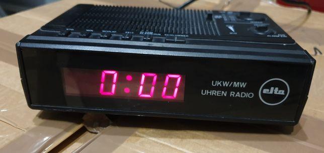Elta zegarek-budzik-radio do sypialni, kuchni, łazienki