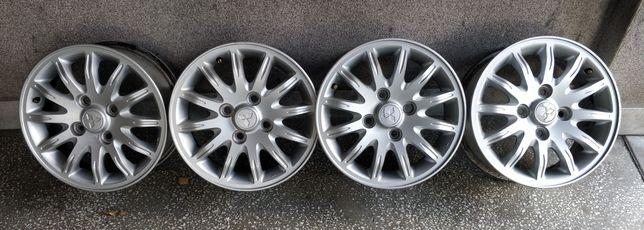 "4 Koła Felgi 15"" 4x114,3 aluminiowe Mitsubishi Volvo Kia Hyundai"