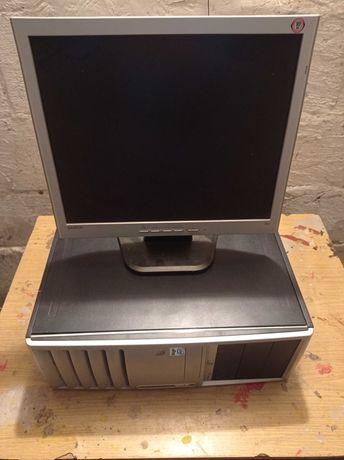 Komputer HP Compaq dc7700p MiniTower+Monitor
