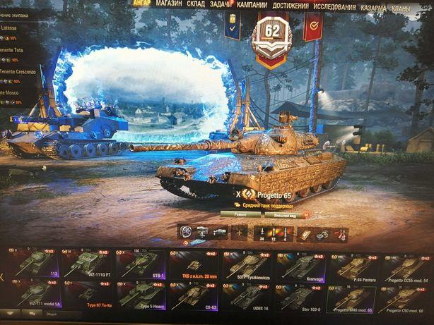 WoT аккаунт в танках