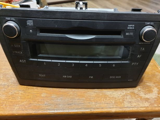 Radio toyota Avensis