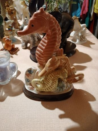 Figurka porcelana konik morski