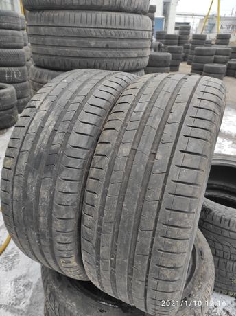 255.40.21 Pirelli PZero 2шт БУ склад шины резина
