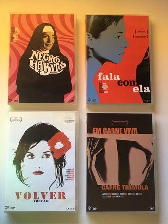 Coleção Pedro Almodovar - 4 DVD's