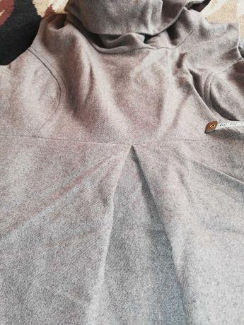 Ciepła sukienka ciążowa L CARRY