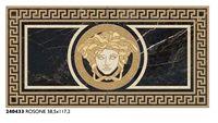 Dekor Versace 58.5x117.2 Rossone Nero Saint Lauren