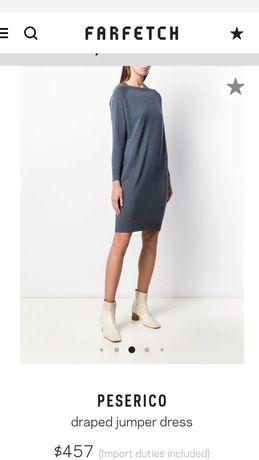 Новое платье туника Brunello Cucinelli Peserico Италия