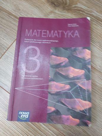 Sprzedam książkę do matematyki 3