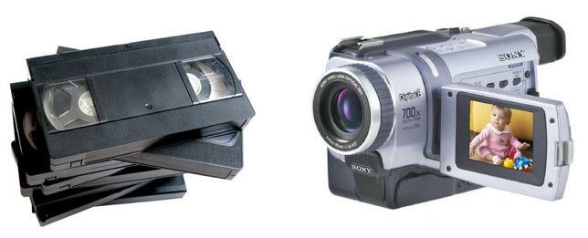 Conversão de Cassetes de Vídeo para Formato Digital/DVD - PAL e NTSC