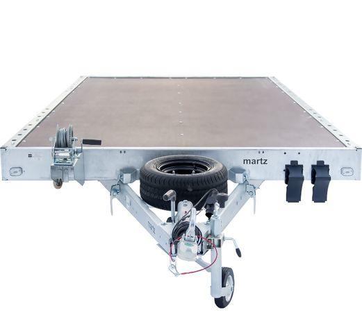 Laweta uchylna z podłogą 406x200 MARTZ GT KIPPBAR NEW 4020S P DMC 2,7T