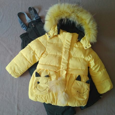 Зимний комбинезон 98-104, куртка, комплект