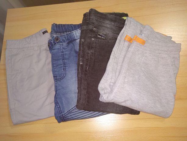 Zestaw różnych spodni chłopięcych rozmiar 152