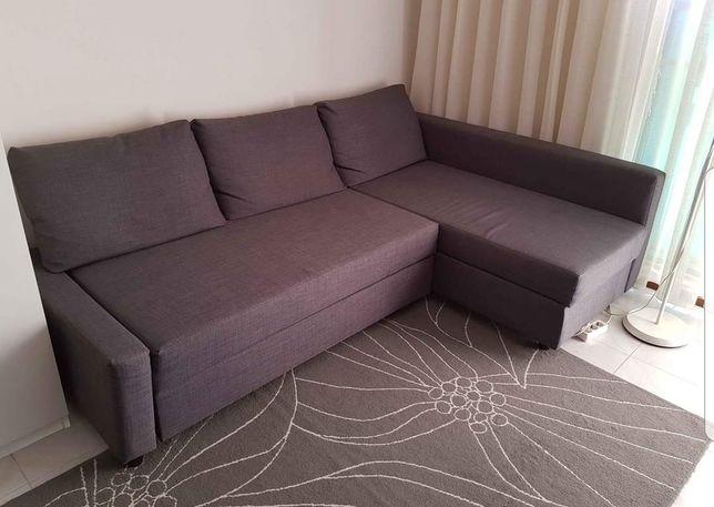 Sofá cama com arrumos