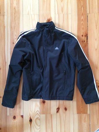 Куртка спортивная чёрная деми Adidas