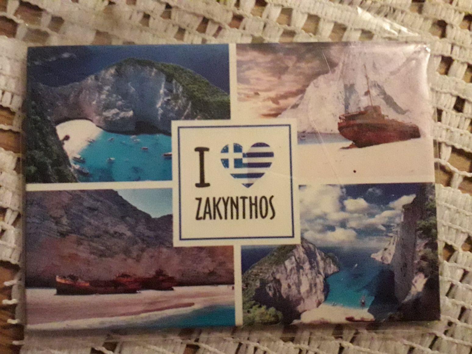 Magnes na lodówkę Zakynthos nowy