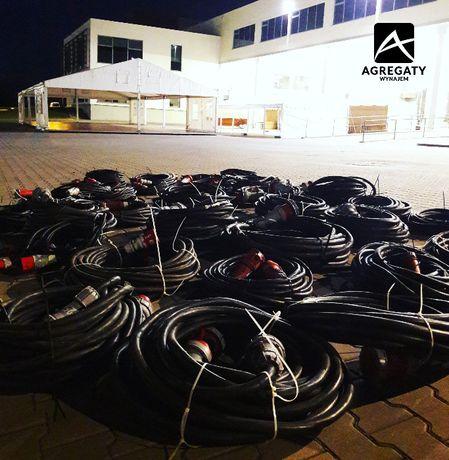 Kabel elektryczny, kabel siłowy Wynajem przedłużacz elektryczny 400V