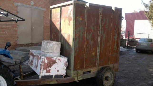 Прицеп, контейнер