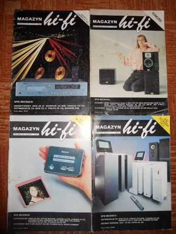 Magazyn HiFi zamienię na inne numery HiFi lub katalogi Denon Akai