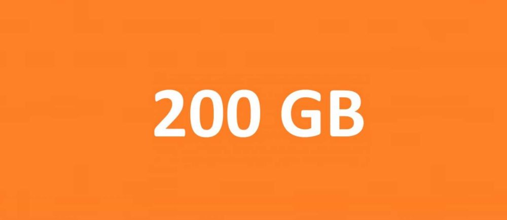 Kod na 200gb internetu do Orange flex na 180 dni *HIT* Warszawa - image 1