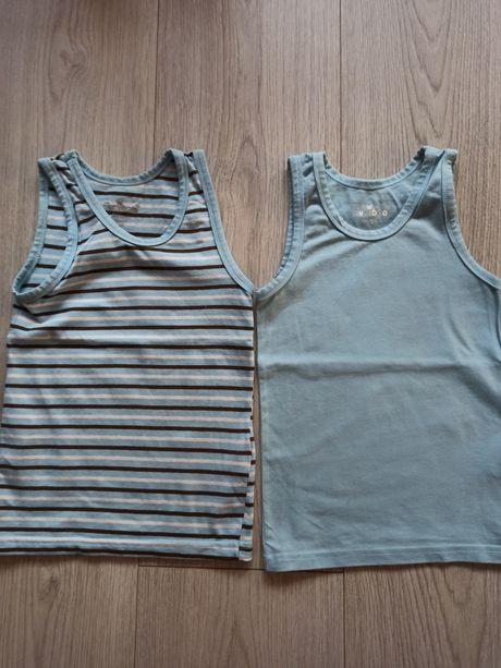 Koszulki na ramiączkach chlopiece rozmiar 98/104
