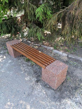 Скамейка садовая, парковая.