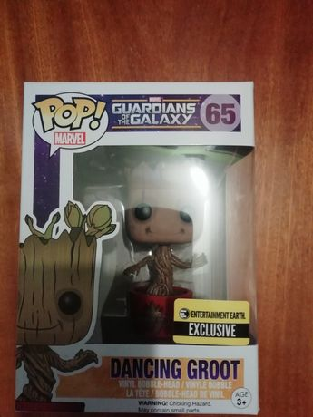 Funko Pop Guardians of The Galaxy Dancing Groot (E.E.EXCLUSIVE)