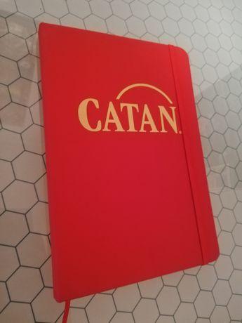 Caderno de folhas brancas oficial Settlers of Catan