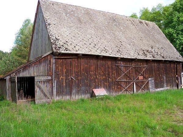 Skup starych stodół, stodoła, deski stare